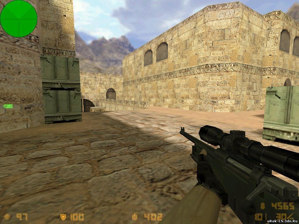 Основные позиции снайпера в CS на картах de_dust2 и de_inferno