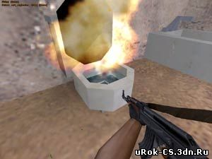 Секреты карты cs_militia в Counter Strike