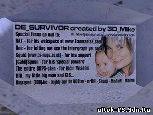 Секреты карты de_survivor в Counter Strike